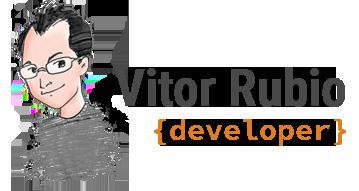 Vitor Rubio Logo
